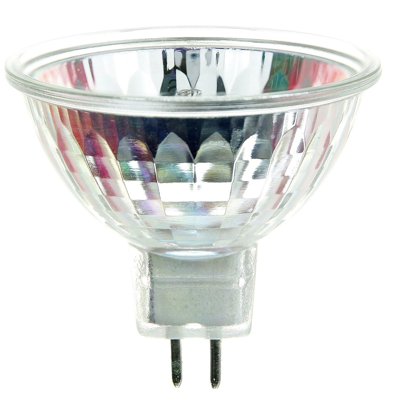 Sunlite EYS 42W//MR16//12V//CL//GU5.3 42-watt 12-volt Bi-Pin Based Stage and Studio MR16 Bulb Clear Sunshine Lighting
