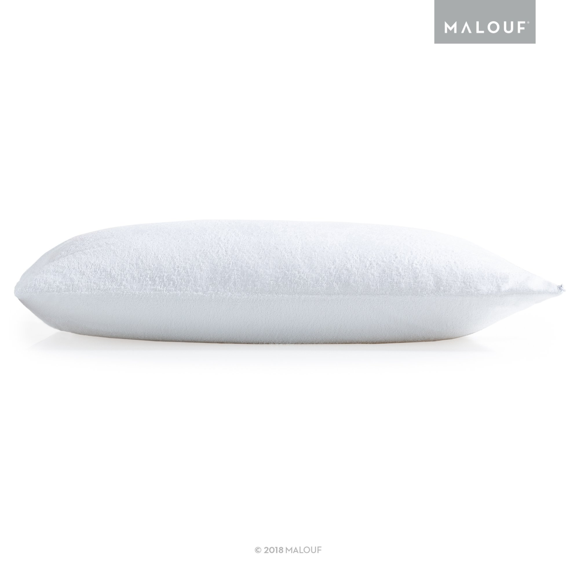 Sleep Tite Hypoallergenic 100% Waterproof Pillow Protector- 15-Year Warranty - Set of 2 - Standard by MALOUF (Image #2)