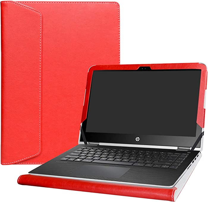 "Alapmk Protective Case Cover for 13.3"" HP Pavilion x360 13 13-uXXX m3-uXXX 13-sXXX (Such as m3-u103dx 13-U163NR 13-S120nr) Laptop[Warning:Not fit Pavilion x360 13 13-aXXX Series],Red"