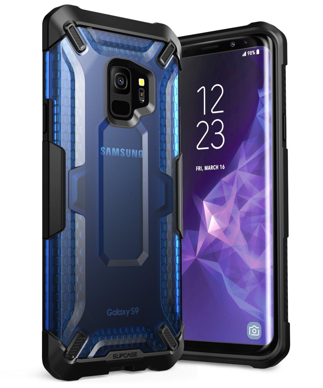 d727018c2ba La Funda Galaxy S9 Unicorn Beetle Series Premium Hybrid tiene un diseño  futurista en color azul que se ajusta a la perfección tu dispositivo y que  se ...