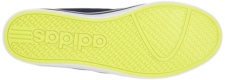 adidas Pace Vs, Chaussures de Gymnastique Homme, Bleu (Collegiate Navy/Matte Silver/Solar Yellow), 44 2/3 EU