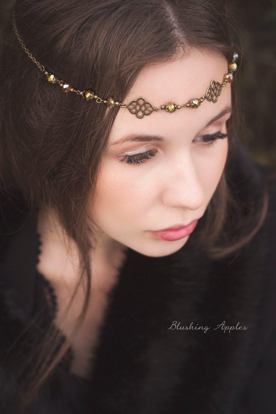 Calista - Haarband, Tiara, Circlet