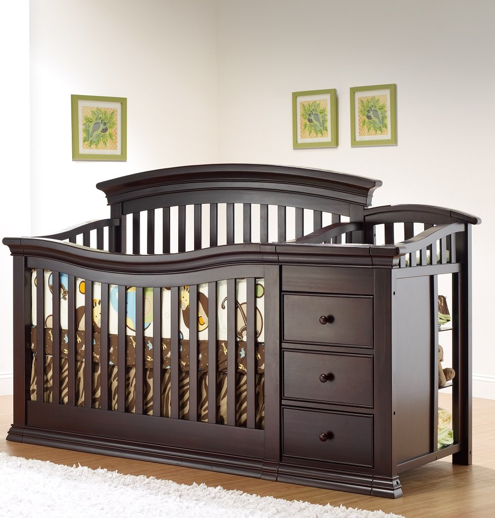 Amazoncom Sorelle Verona 4in1 Convertible Crib and Changer
