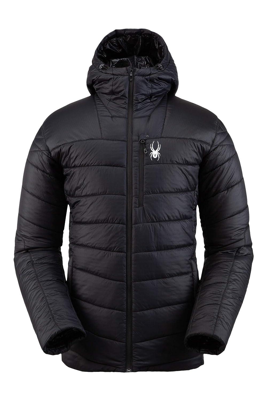 Male Full-Zip Insulated Hooded Outdoor Apparel Spyder Men/'s Glissade Hoodie Insulator Jacket