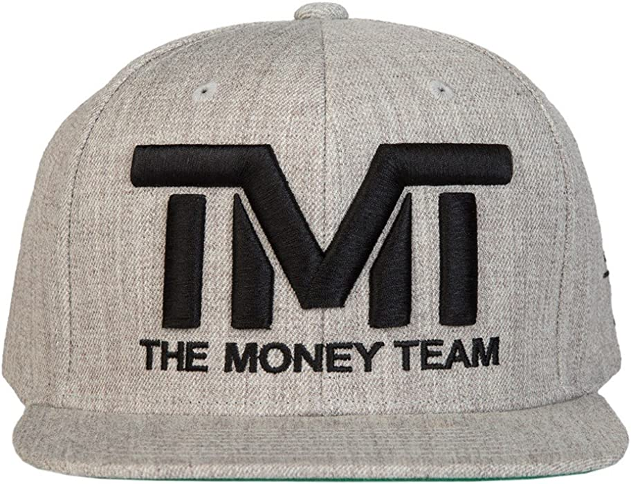 El equipo de dinero hombre Courtside Heather Gris/Negro Tmt