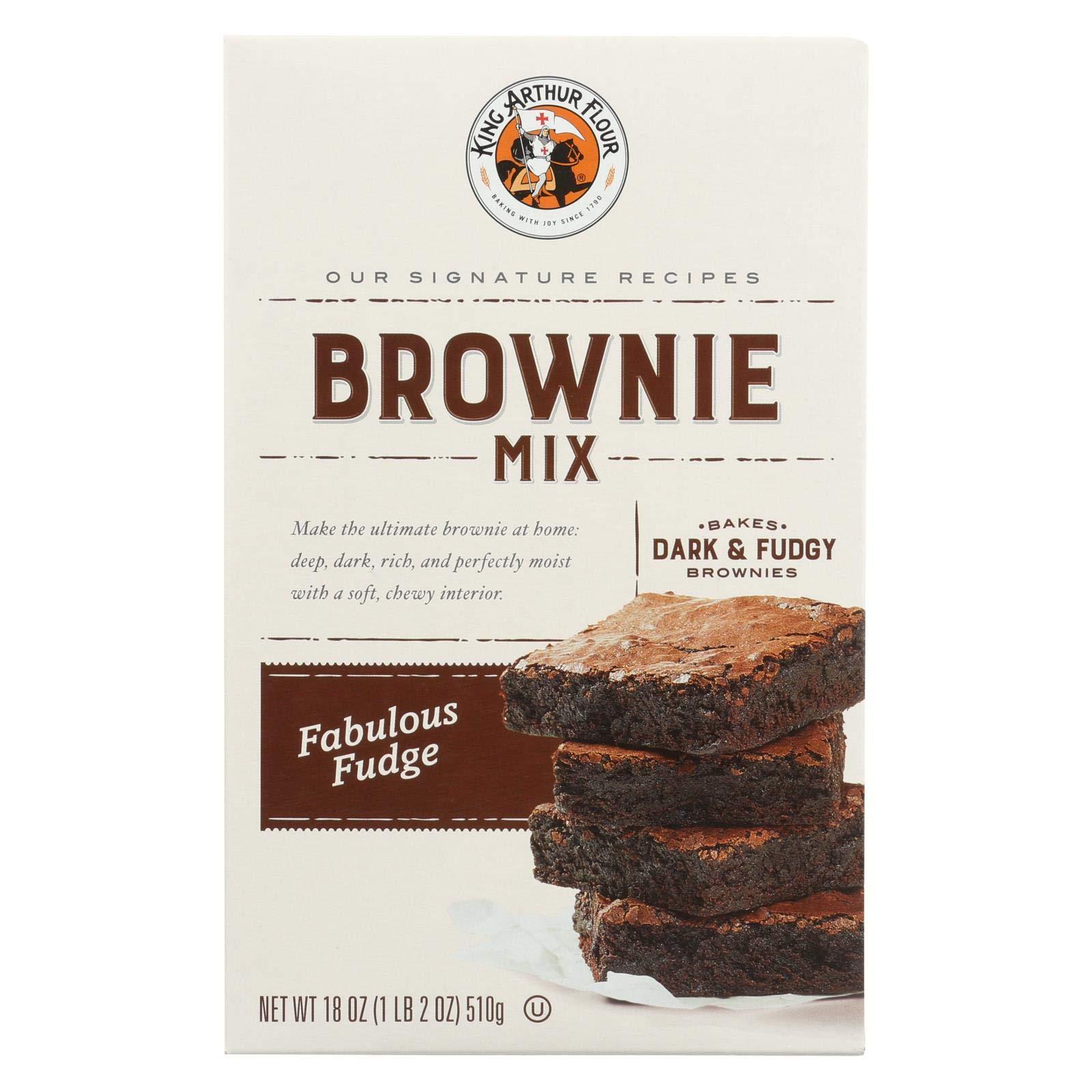 King Arthur, Mix Brownie Fudge, 18 Ounce