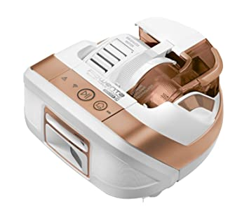 Rowenta Smart Force Cyclonic Explorer RR8147WH - Robot aspirador, 7 programas, 60 minutos de autonomía, marrón y blanco: Amazon.es: Hogar