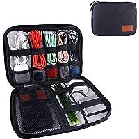 OrgaWise Bolsa Cables de Viaje Electrónico Organizador de Cable para Cargador, Cables, Objetos, Kindle, Adaptadores…