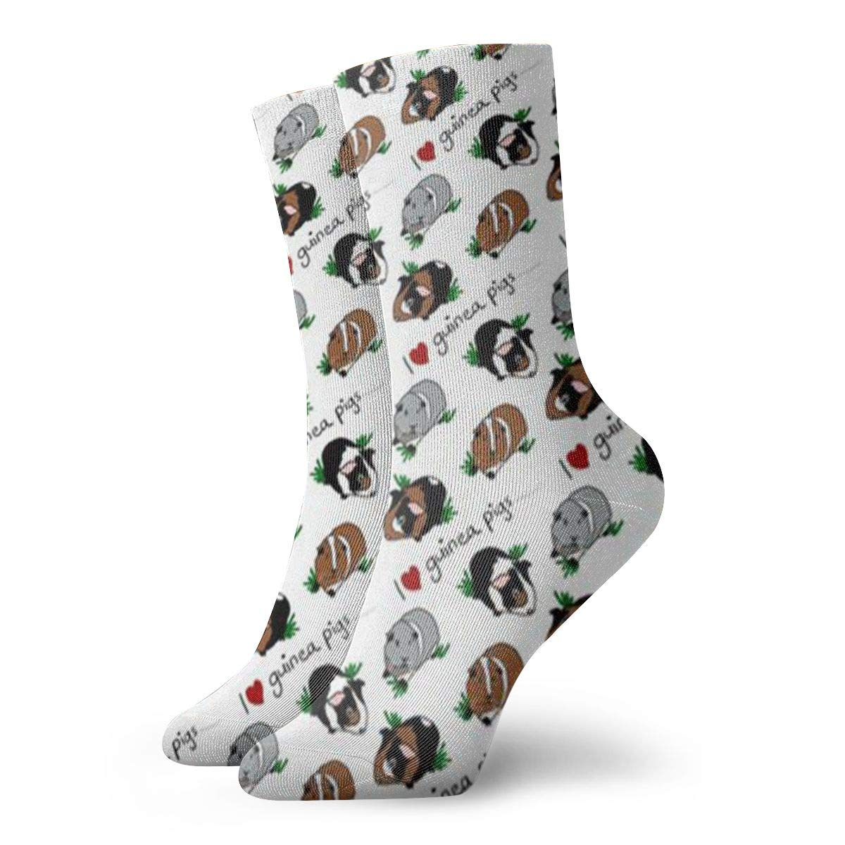 Guinea Pigs Unisex Funny Casual Crew Socks Athletic Socks For Boys Girls Kids Teenagers