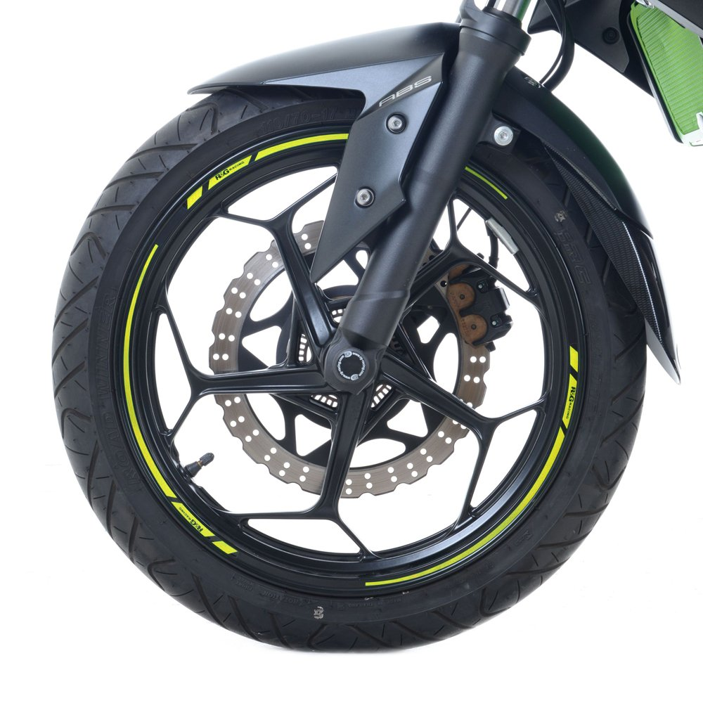 R/&G Motorcycle Rim Tape for 17 Inch wheels Yellow