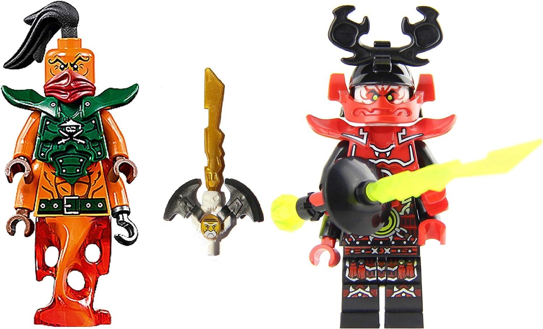 LEGO Ninjago: Nadakhan and General Kozu minifigs