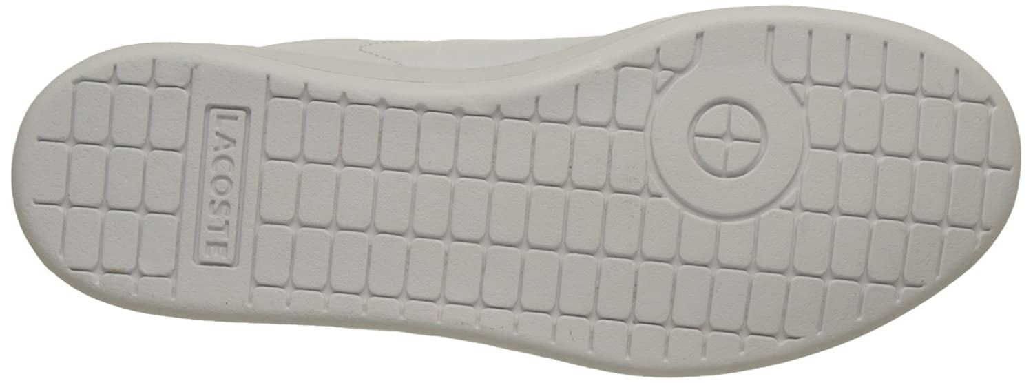 501aebbc9 Lacoste Unisex Kids' Carnaby Evo Bl 1 SPJ Wht/NVY Bass Trainers:  Amazon.co.uk: Shoes & Bags
