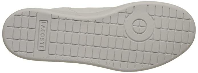 Amazon.com | Lacoste Carnaby Evo BL 1 White/Navy Synthetic Youth Trainers | Sneakers