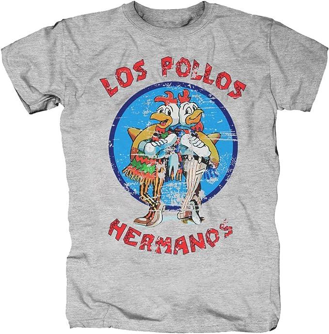 TSP Los Pollos Hermanos Camiseta para Hombre T-Shirt: Amazon.es: Ropa y accesorios