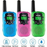 Walkie Talkies for Kids 3 Pack, Walky Talky Toys for Boys & Girls, 2 Way Radio Toys for Kids Age 5-10 Years Old