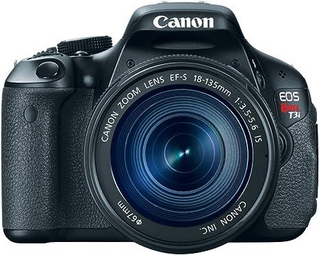 Canon EOS Rebel T3i Juego de cámara SLR 18MP CMOS 5184 x ...
