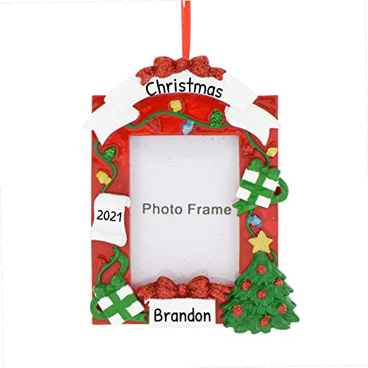 Red Frames 2020 Christmas Picture Frames Amazon.com: Personalized Dear Santa Photo Frame Christmas Tree