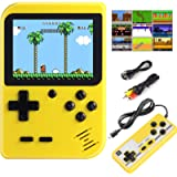 Diswoe Handheld Game Console, Portable Retro Game Player With 400 Classical FC Games 2.8-Inch Color Screen Handheld…