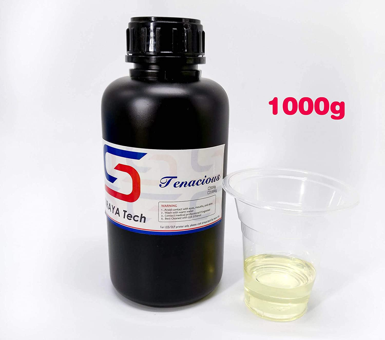 Tenacious (1 Kg). Resina flexible y resistente a los impactos de ...