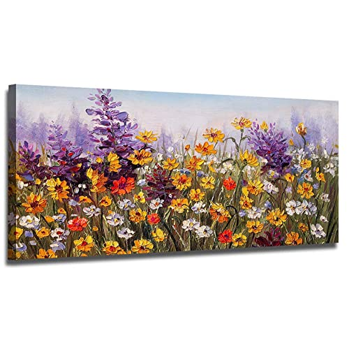 Colorful Flower Wall Paintings Amazon Com