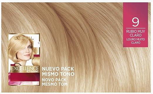 LOreal Paris Excellence Creme Tinte Permanente Tono 9 ...