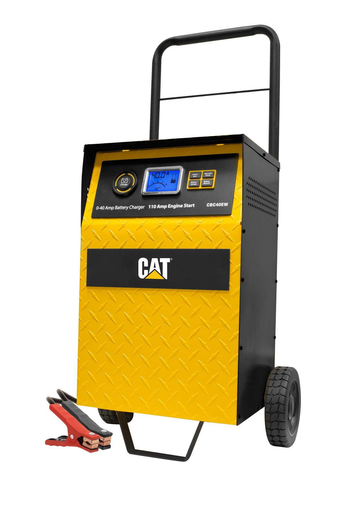 CAT CBC40EW 40 Amp Battery Charger with 110 Amp Engine Start