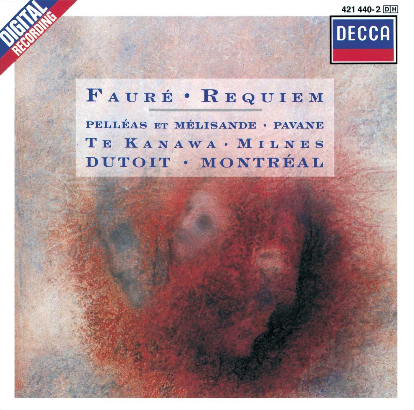 Faure: Requiem/Pelleas Et Melisande/Pavane by DECCA,PRIMO NOVECENTO,,MUSICA SACRA,
