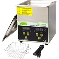 ONEZILI Ultrasonic Cleaner 2L, Professional Ultrasonic Jewelry Cleaner, Small Part Cleaners Machine with Timer Digital…