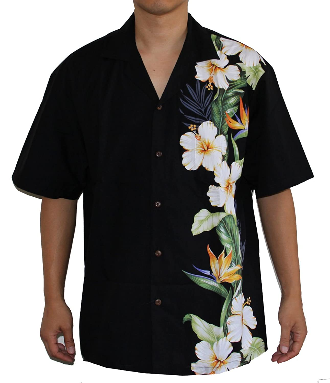 89afdb065 Please use sizing chart below. Do Not use Amazon sizing 100% Cotton ; MADE  IN HAWAII COCONUT BUTTONS & MATCHED POCKET Please click Alohawears  storefront for ...