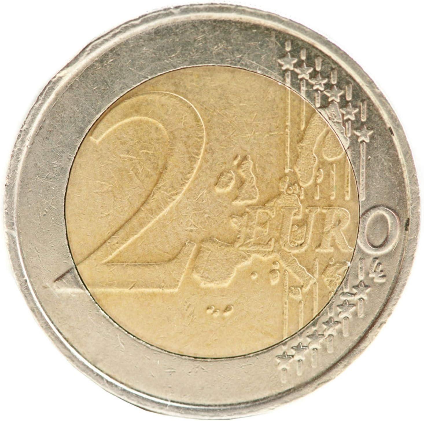 Pegatina para monedas, 2 euros, redonda, aprox. Ø 27 mm ...