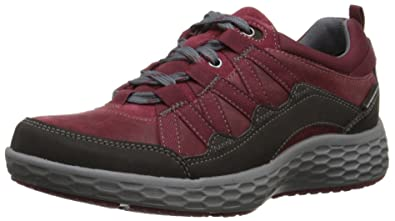 Cobb Hill Rockport Women's Freshexcel Waterproof Flat, Red, ...