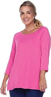 product image for JudyP Blu Women's Jennifer Sabrina Neck Top (8 Colors)