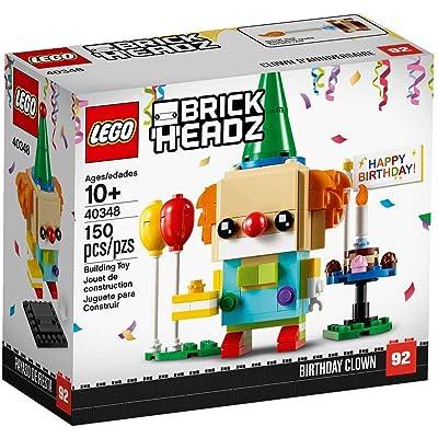 BrickHeadz Happy Birthday Clown 40348 150 Pieces: Toys & Games