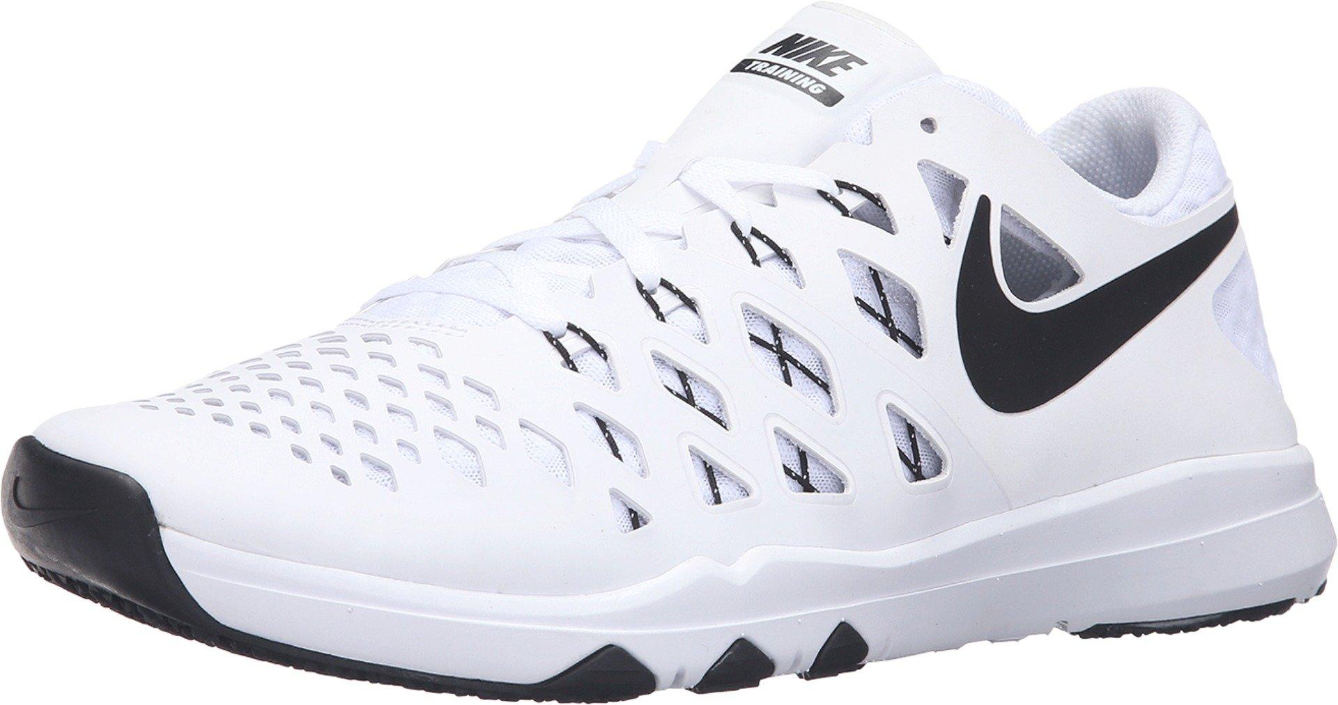 innovative design f6a1e 6eecc Galleon - NIKE Train Speed 4 White Black Men s Running Training Shoes Size  15