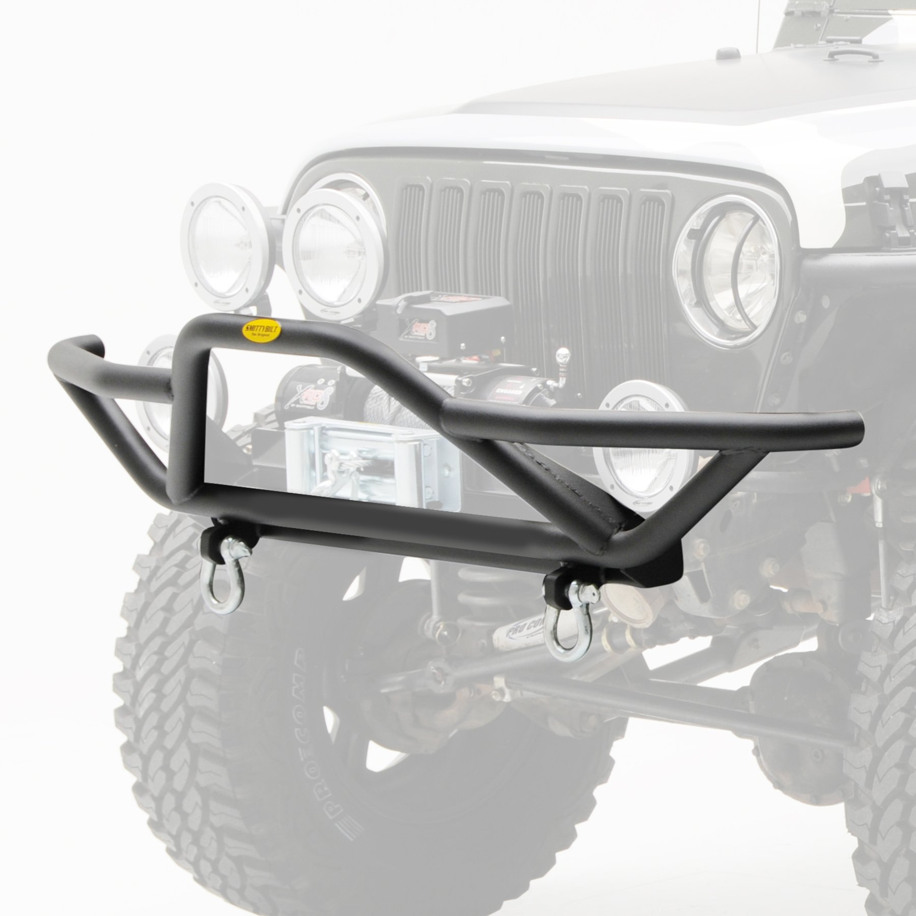 For 87-06 Jeep Wrangler TJ YJ Front Bumper lip  guard Textured Rock Crawler
