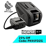Amazon Price History for:Rexing V1LG Dual Channel Car Dash Cam FHD 1080p 170° Wide Angle Dashboard Camera Recorder with HD Rear Camera, Built-in GPS Logger, 16GB Memory Card, G-Sensor, WDR, Loop Recording
