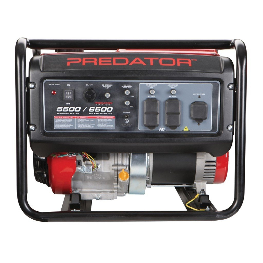 71uV1cIV6yL._SL1024_ amazon com predator portable generator 6500 peak 5500 running predator generator 8750 wiring diagram at fashall.co