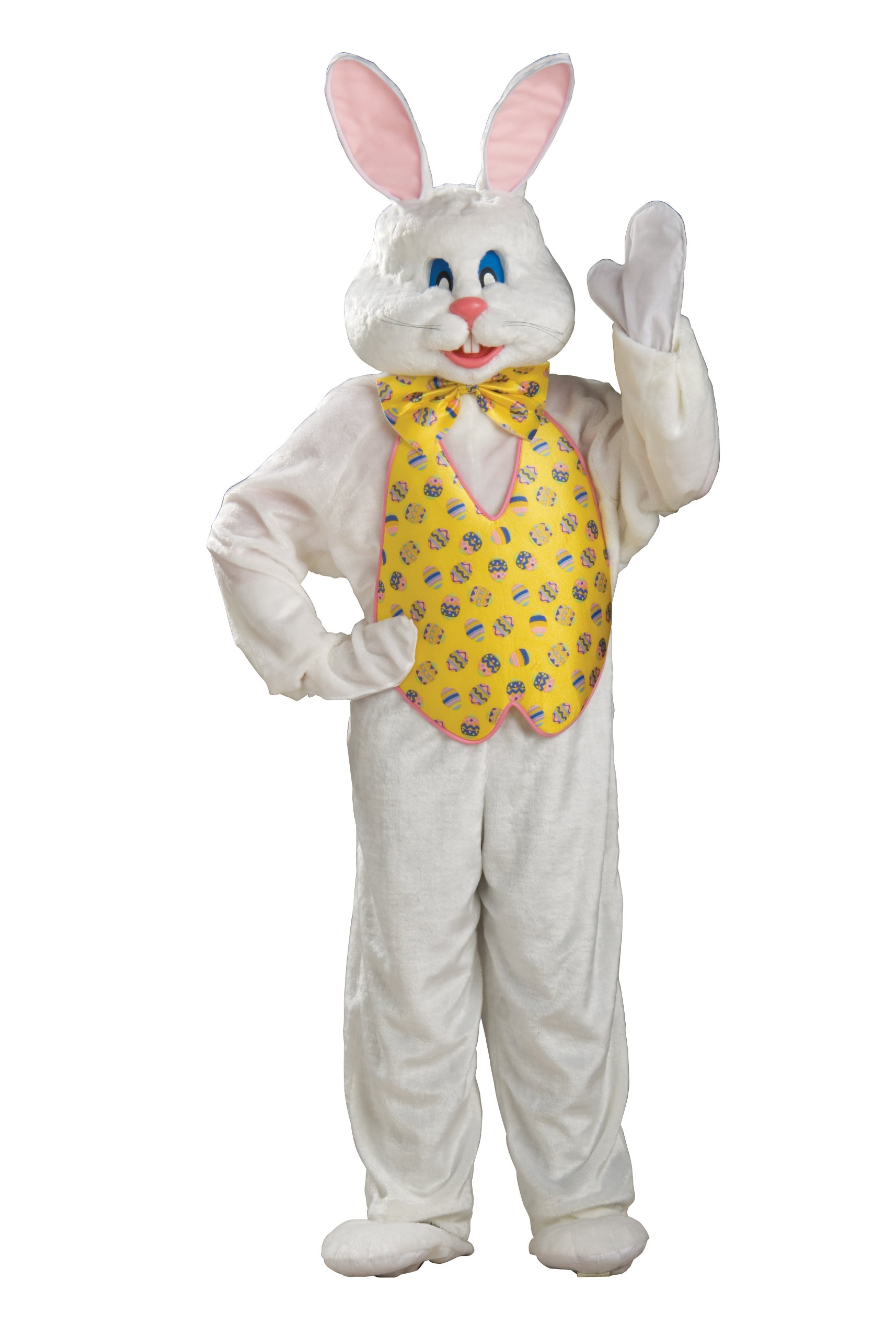 Rubie's Deluxe Bunny Suit With Hood, Multi, X-Large Costume