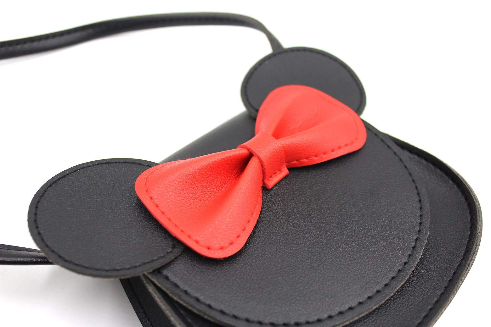 ZGMYC Kids Toddlers Bowknot Crossbody Purse Small Shoulder Bag Satchel with Cartoon Ears by ZGMYC (Image #5)