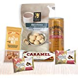 Gift Hamper for Men on Father's Day or Birthday - Favourite Snack Foods for Him or Her with Chocolates, Cookies, Nuts…