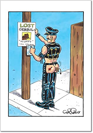 Lost Gerbil Birthday Joke Card