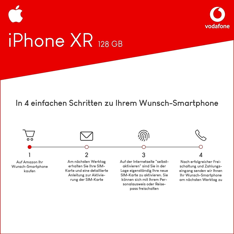 Sim Karte Aktivieren Vodafone.Apple Iphone Xr 128gb Speicher Handy Mit Vertrag 11gb