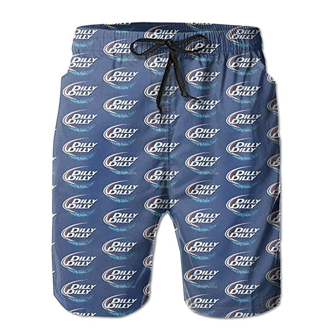 Dilly Dilly Boardshorts Mens Swimtrunks Fashion Beach Shorts Casual Shorts Swim Trunks