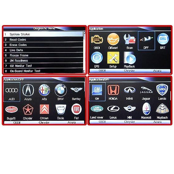 Autool Foxwell Automaster pro nt644 todos sistema All Make escáner con aceite/EPB/recargable/DPF/TPS/Tba funciones: Amazon.es: Coche y moto