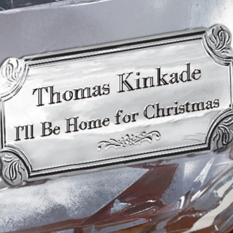 Amazon.com: Thomas Kinkade I\'ll Be Home For Christmas Music Box by ...