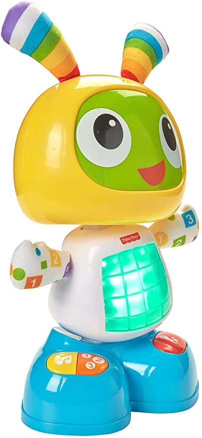 Fisher-Price CGV43 Dance and Move Beatbo, Baby Robot Learning Toy or Gift-Best-Popular-Product