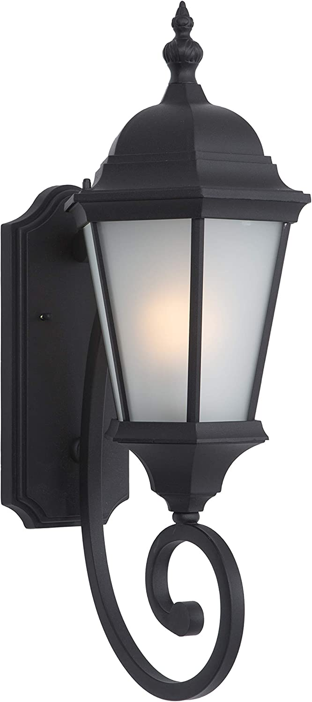 Yosemite Home Decor FL5124BL Brielle Collection Nine-Inch Fluorescent Exterior, 12, Black, 64 Piece