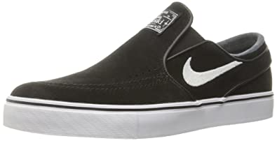 8cf12efe3b0 Nike Men s Zoom Stefan Janoski Slip Black White Skate Shoe 9 Men US