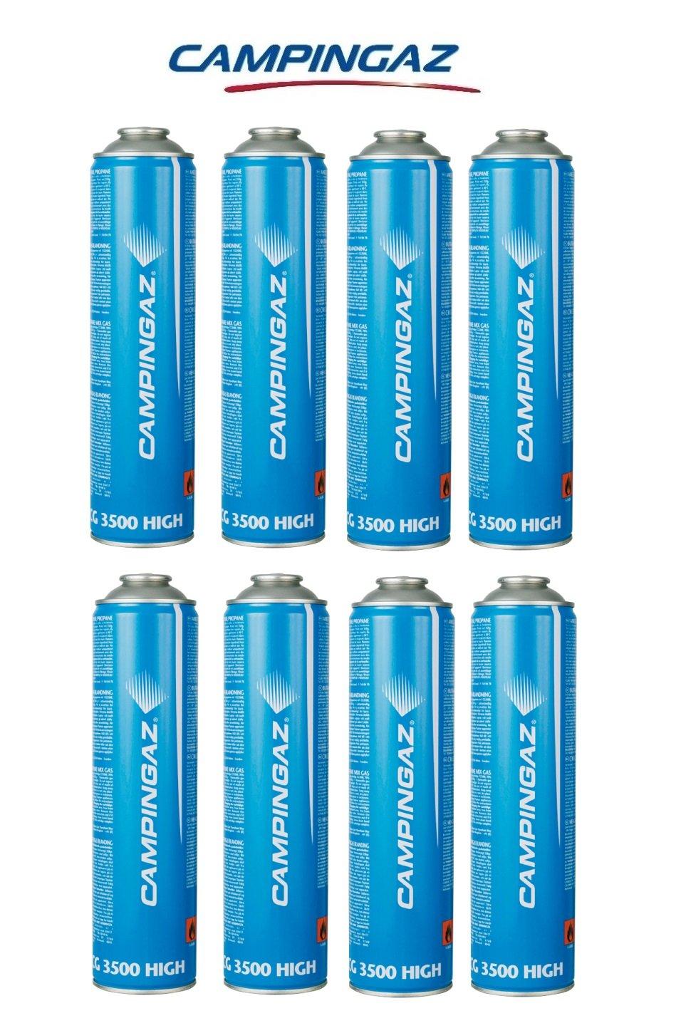 Dose-Patronen a Gas 350 gr – cg3500 Campingaz CG 3500 – Schraubanschluss ideal für Schweißer – Angebot für 8 Kapseln