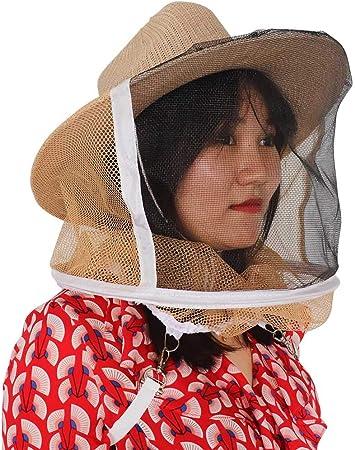 M.Z.A Bienenenzucht Cowboyhut Imker Hut Schleier Gartenschutz Anti M/ückenschutz Insektennetz Schleier Gesichtsschutz